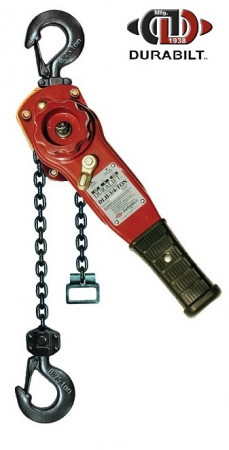 Durabilt Lever Hoists 3/4 Ton Rated Capacity 20ft Standard Lift
