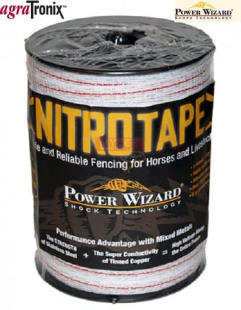 Nitro Tape 1/2 Inch 5-Strand with Red Tracer 656 Ft
