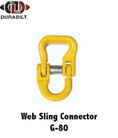 Durabilt G80 Web Sling Connector, 3/8""