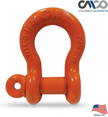 CM Super Strong Anchor Shackle   7/8 in.  8-1/2 Ton WLL