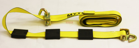 """2""""x12' Replacement Over the Tire Strap w/ 2 Swivel Hooks"""