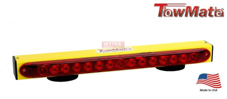 Towmate Towlight for Light Duty Applications, 22 Inch and Sunlight Yellow Color