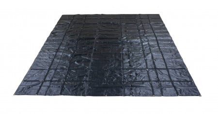 Heavy Duty 18oz Steel Tarp 16' x 24' - Black