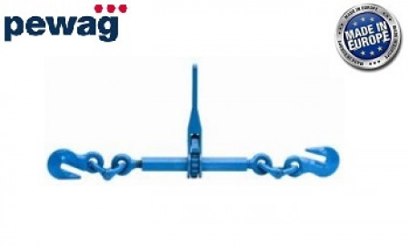 "pewag Heavy Duty 3/8"" G120 Ratchet Chain Load Binder 10,600 Lbs WLL"