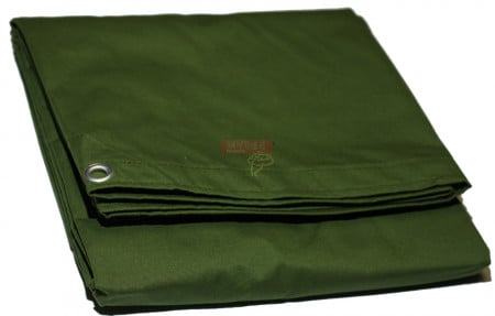 12' x 24' Canvas Tarp - Green