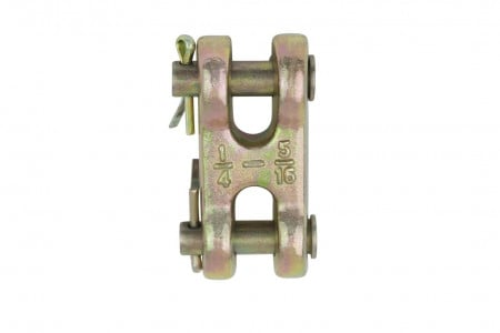 "G70 5/16"" Chain Link Double Clevis"
