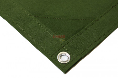 10' x 12' Canvas Tarp - Green