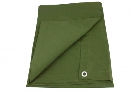 12' x 20' Canvas Tarp - Green
