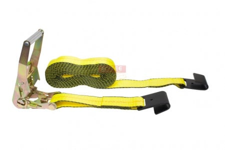 "2"" Ratchet Strap with Flat Hook"