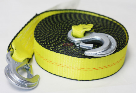 Towing Straps w/ Hooks (Available in Different Sizes)
