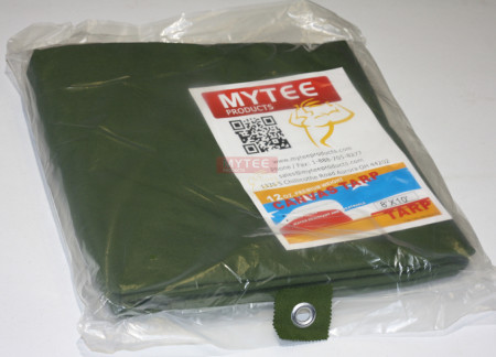 12' x 16' Canvas Tarp - Green