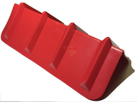 Corner Protector Vee Shaped / V Edge Protector - 24 Inches Red
