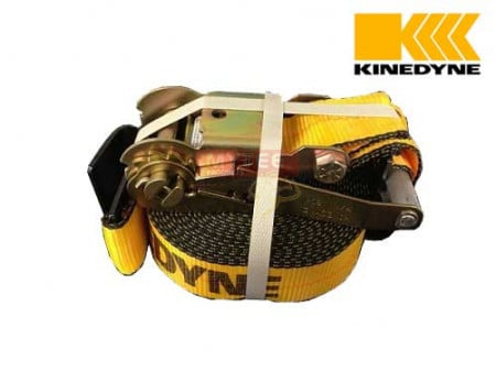 "Kinedyne 2"" x 30' Ratchet Strap with Flat Hook"
