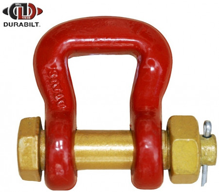 Web Shackle Made with Forged Alloy Steel & Alloy Bolt 3.25T WLL