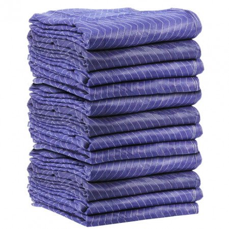 "Economy Moving Blankets 72""x80"" (1 Dozen)"