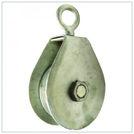 Hay Fork Pulley WLL 1.0 ton 4 Inch Sheave