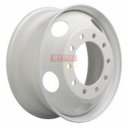 22.5 x 8.25 10 HOLE Steel Hub Pilot Wheel