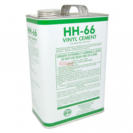 HH66 Vinyl Cement - 1 Gallon Truck Tarp Pool Cover Awning Tent Repair