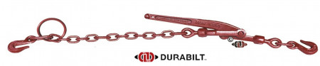 """Durabilt Poultry Cage Binders 1/4"""", Chain Length 10"""""""
