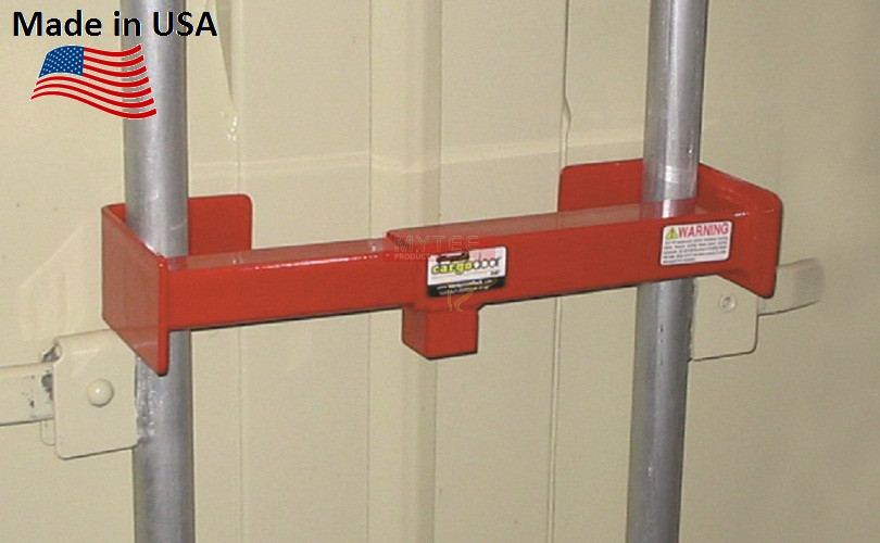 Cargo Door Key Lock Vertical Bars 9 3 4 16 Inch Apart